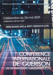 Célébration avec Betty Freidzon et Heidi Baker