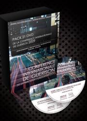 Pack DVD Conférence internationale de guérison 2009