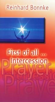 First of all ... Intercession