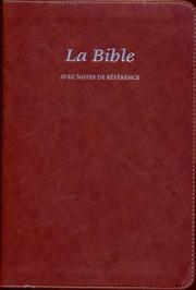La Bible Segond 21 - avec notes de références brun
