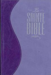 La Sainte Bible - Louis Segond 1910 - violet
