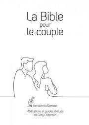 Bible pour le couple Semeur 2015, blanche - couverture rigide, tranche or
