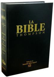 Bible Thompson NBS avec chaînes de références