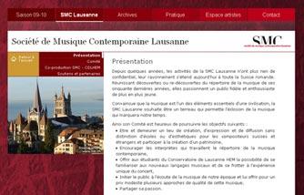 Société de Musique Contemporaine Lausanne