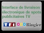 Solution personnalisée pour livraison électronique de spots TV