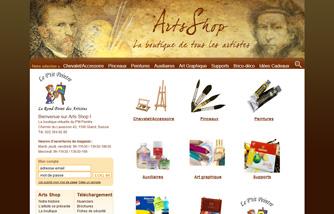 Arts Shop: la boutique de tous les artistes