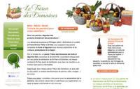 Le Trésor des domaines: paniers de fruits et légumes frais de la région de Morges et Lausanne