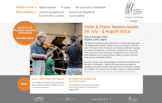 Académie de musique de Lausanne