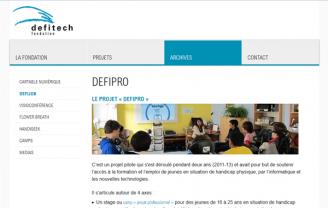 Fondation Defitech