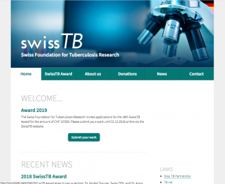SwissTB - Swiss Foundation for Tuberculosis Research