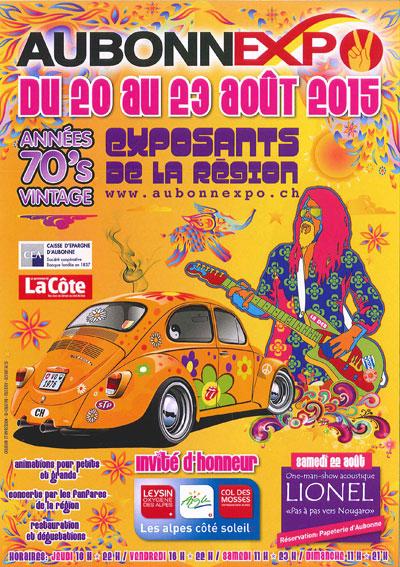 Retrouvez-nous à Aubonne Expo!