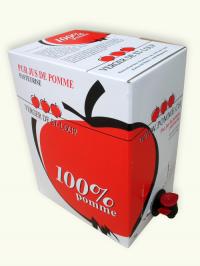 Jus de pomme pasteurisé 5l
